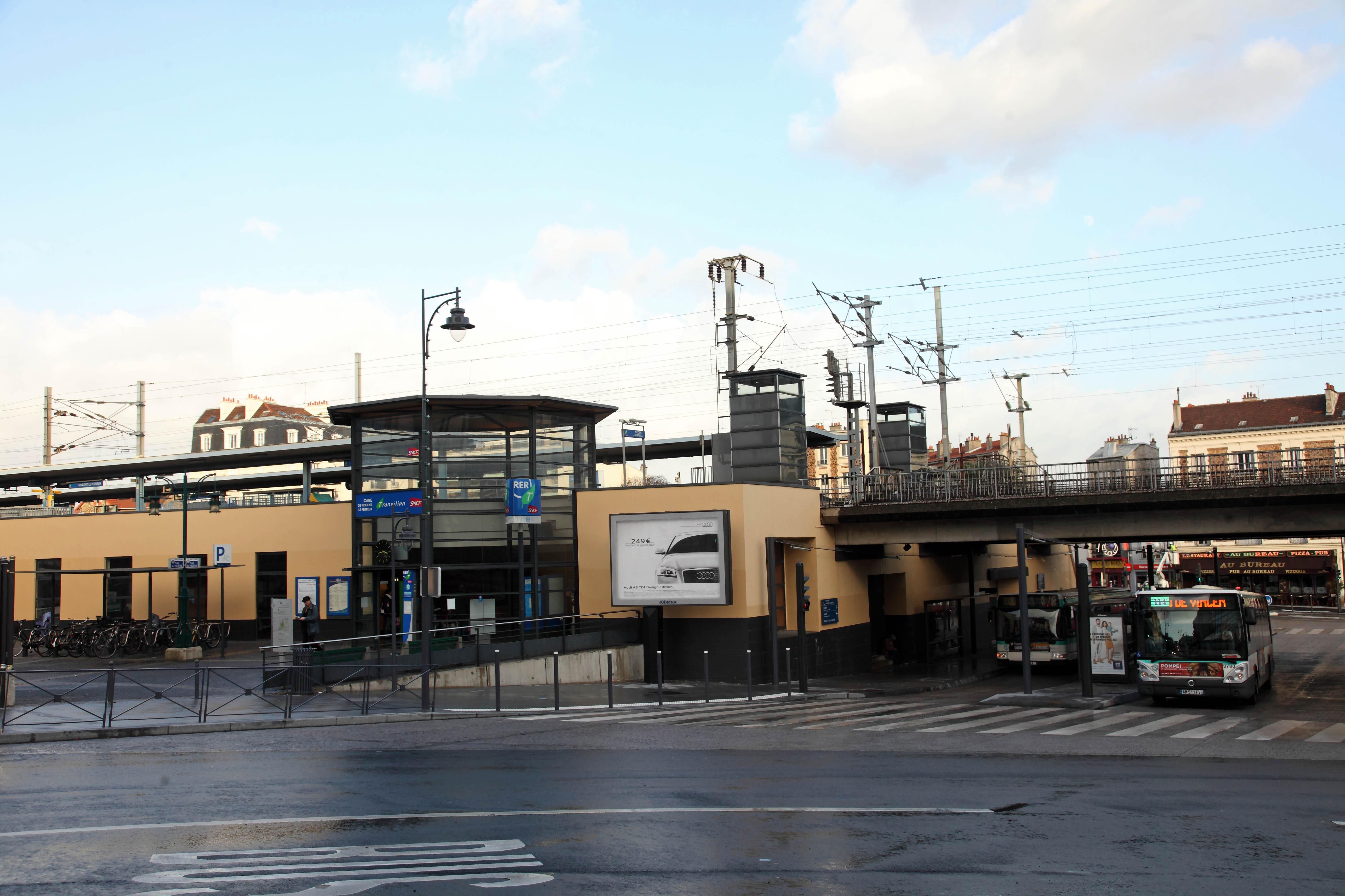 Gare de nogent le perreux : travaux à partir du 27 août ville de