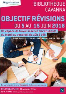 Bibliothèque objectif révisions 2018