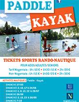 Padle kayak Nogent-sur-Marne