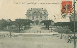 Carte postale esplanade HDV début 20e siecle Nogent-sur-Marne 1