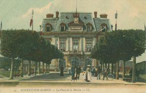 Carte postale esplanade HDV début 20e siecle Nogent-sur-Marne 2
