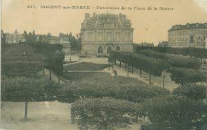Carte postale esplanade HDV début 20e siecle Nogent-sur-Marne 3