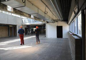 Chantier stadium accueil et bar-aout 2018 à Nogent-sur-Marne