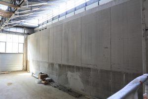 Chantier stadium mur escalade-aout 2018 à Nogent-sur-Marne