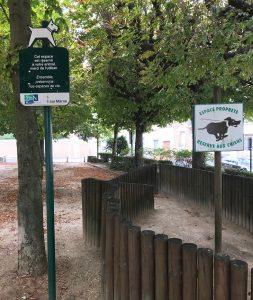 Parc à chiens à Nogent-sur-Marne proche de la mairie