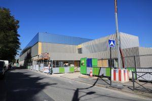 Stadium Christian Maudry Nogent-sur-Marne chantier