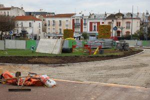 travaux esplanade mairie Nogent-sur-Marne