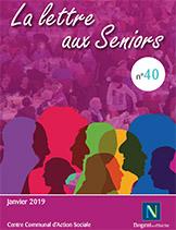 lettre seniors n°40 - janvier 2019