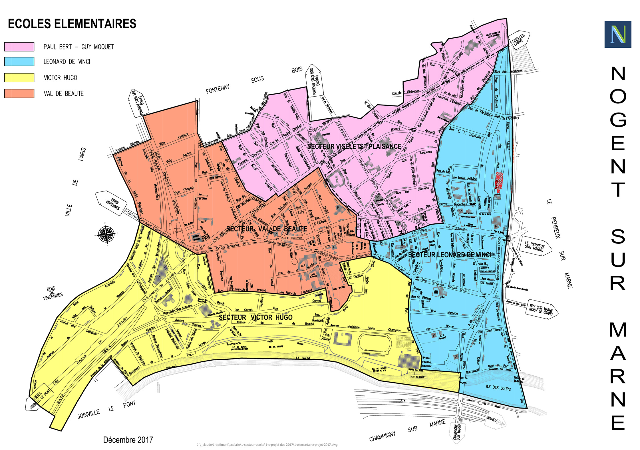 Calendrier Garde Classique 2019 Zone B.Scolaire Periscolaire Ville De Nogent Sur Marne