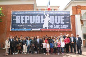 fresque République Française Val de Beauté Nogent-sur-Marne