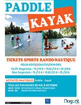 paddle kayak 2019-UNE