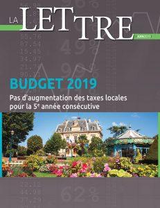 Lettre du budget 2019 Nogent-sur-Marne