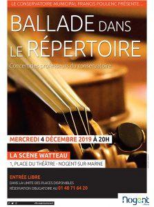 concert conservatoire Nogent-sur-marne