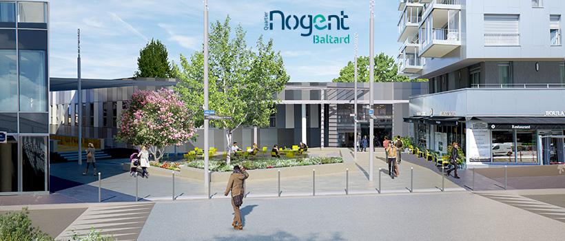 Nogent Baltard-parvis gare RER A Nogent-sur-Marne