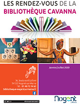 Bibliothèque programme janv-juillet 2020