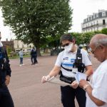 Police municipale controles attestations covid-19 Nogent-sur-Marne