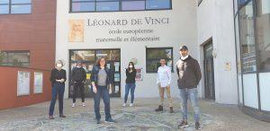 Covid-19-accueil leonard de vinci Nogent-sur-Marne