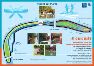 Tickets sports 2020-circuits kayak paddle Nogent-sur-marne