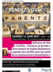 RDV des parents Nogent-sur-Marne12 juin 2021