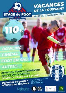 stage de foot-vacances toussaint Nogent-sur-Marne