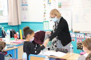 Valérie Morin directeur de l'école Val
