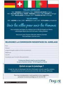 commission jumelage Nogent-sur-Marne