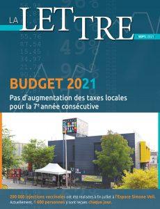 lettre du budget 2021 Nogent-sur-marne