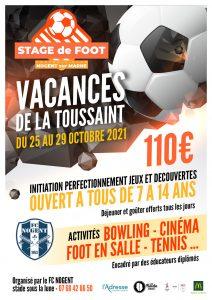Stage foot Nogent-sur-Marne
